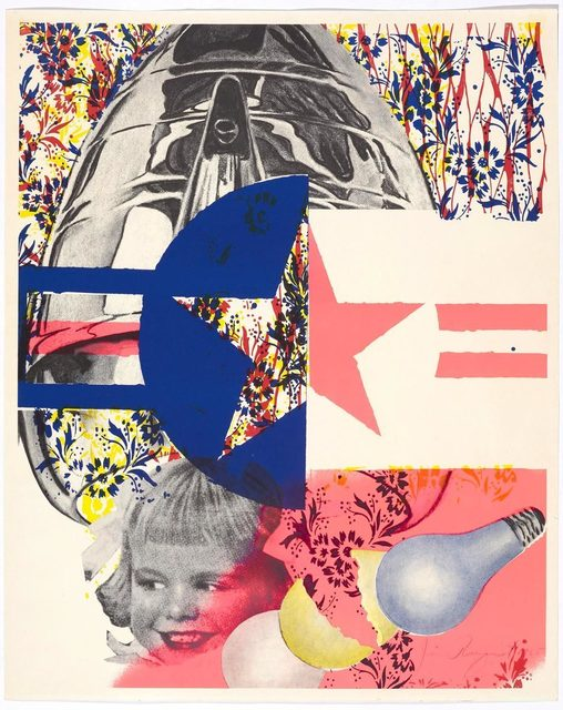 James Rosenquist, 'F-111 (Castelli Gallery Poster)', 1965, Koller Auctions