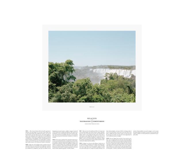 , 'Rio Iguazu,' 2014, espaivisor - Galería Visor