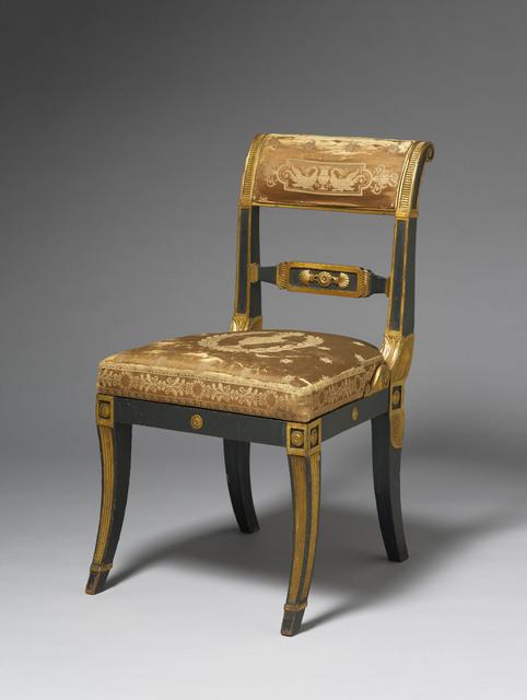 , 'Side chair,' English circa 1805, H. Blairman & Sons Ltd