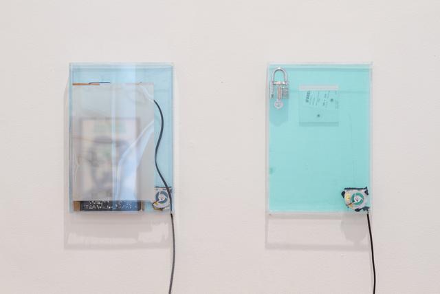 , 'dust, scraper, fan .5 (working title),' 2015, Barbara Seiler