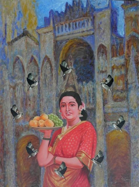 , 'Confluence - 12,' 2018, Arushi Arts