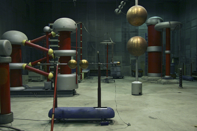 , 'High Voltage Lab,' 2011, ANCA POTERASU