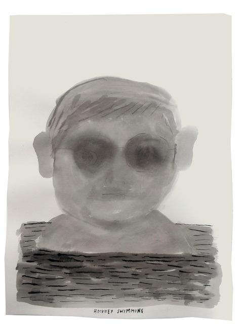 , 'Art history in 100 Drawings: Hockney,' 2016, Sapar Contemporary