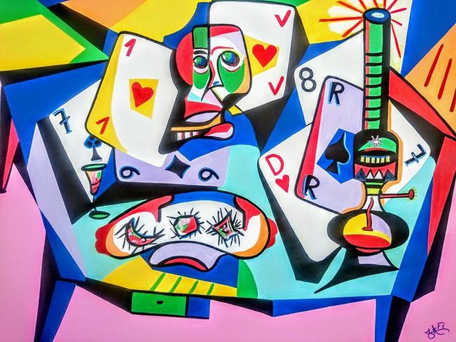 , 'La Tableau de Jeu,' 2017, BOCCARA ART