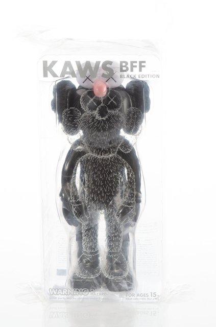 KAWS, 'BFF (Black)', 2017, Sculpture, Painted cast vinyl, Heritage Auctions