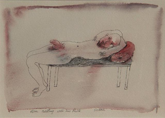 , 'Man resting with his Prick,' Undated, The Noble Sage Collection