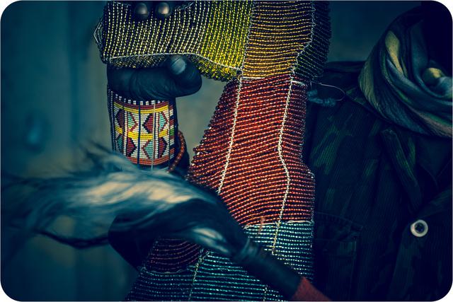, 'Ajani 2,' 2016-2019, The Rendon Gallery