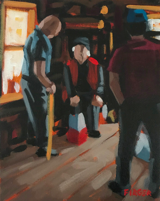 Chris Firger, 'Fisherman's Story', ca. 2018, Copley Society of Art