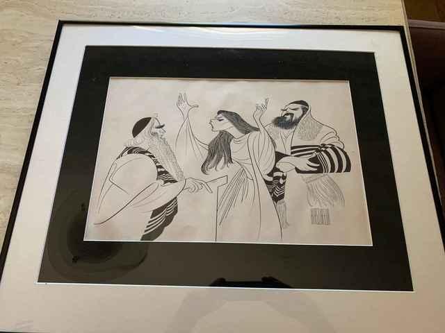 Al Hirschfeld, 'The Dybbuk', 1960, Leviton Fine Art