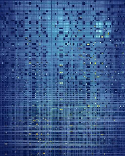 , 'Blue Grid, San Francisco,' 2014, Robert Koch Gallery