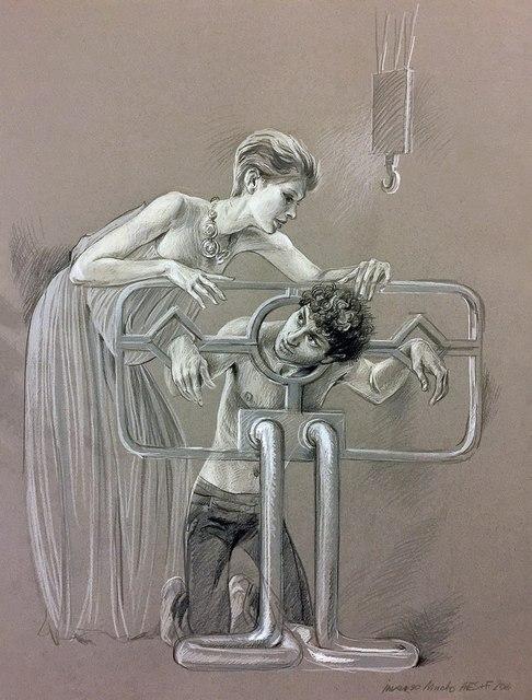 , 'Inverso Mundus, Women's Labor #7,' 2016, Mobius Gallery