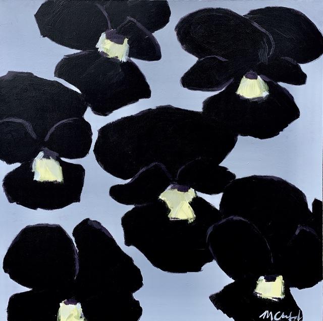 Maureen Chatfield, 'Black Pansies', 2019, J. Cacciola Gallery