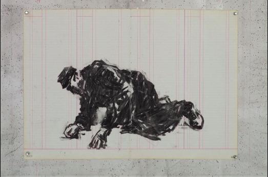 , 'Fallen Man I,' 2015, Lia Rumma
