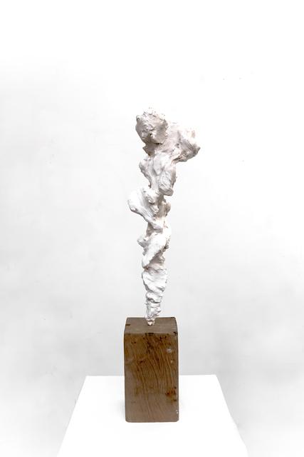 , 'Small Totem White no. 4,' 2017-2018, Dellasposa