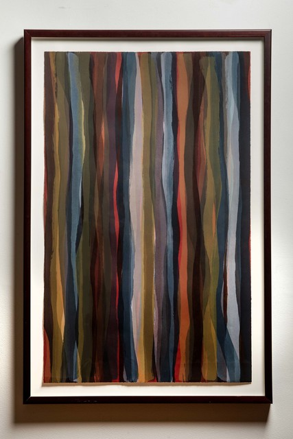 , 'Brushstrokes in Different Colors in Two Directions: Plate #04,' 1993, Wexler Gallery