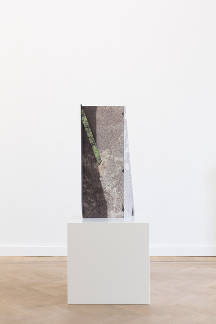 , 'Joshua Tree Granite Pierced Steel,' 2019, GRIMM