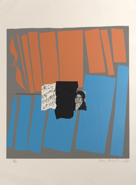 Ceri Richards, 'Beethoven Suite with Variations', 1970, Marlborough Gallery