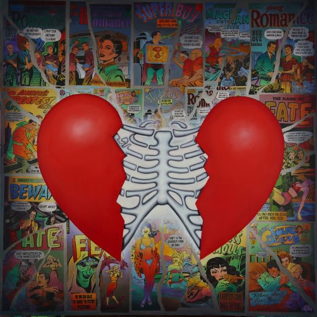 Ron English, 'Heartbreak', 2018, Allouche Gallery