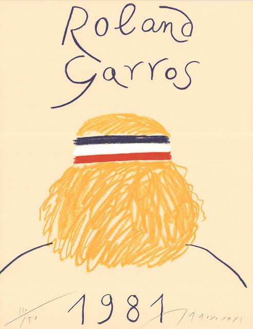 Eduardo Arroyo, 'Roland Garros', 1981, Ephemera or Merchandise, Offset Lithograph, ArtWise