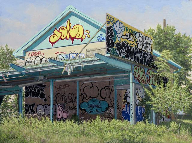 , 'Abandoned Golf Center, Bronx,' 2016, Lyons Wier Gallery