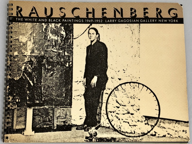 Robert Rauschenberg, 'Vintage Robert Rauschenberg exhibition catalog (Gagosian 1986)', 1986, Lot 180