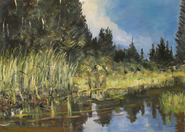 Rebecca Perehudoff, 'Canal Reeds', 2009, Newzones