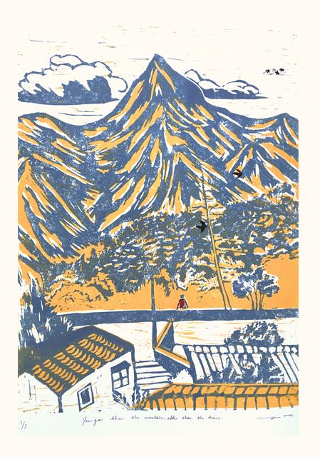 June Ho, 'Good Evening Mountain', 2019, Karin Weber Gallery