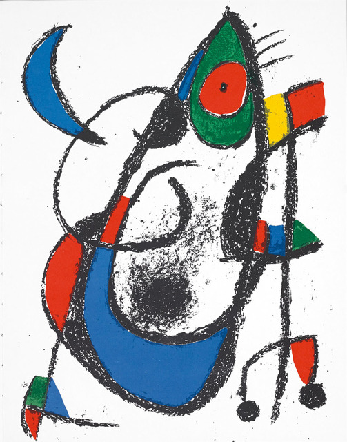 Joan Miró, 'Untitled (Lithographe II, M.1047)', Martin Lawrence Galleries