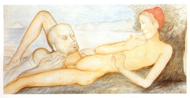 , 'Socrate interrogeant le jeune charmide,' 1984, Christine König Galerie