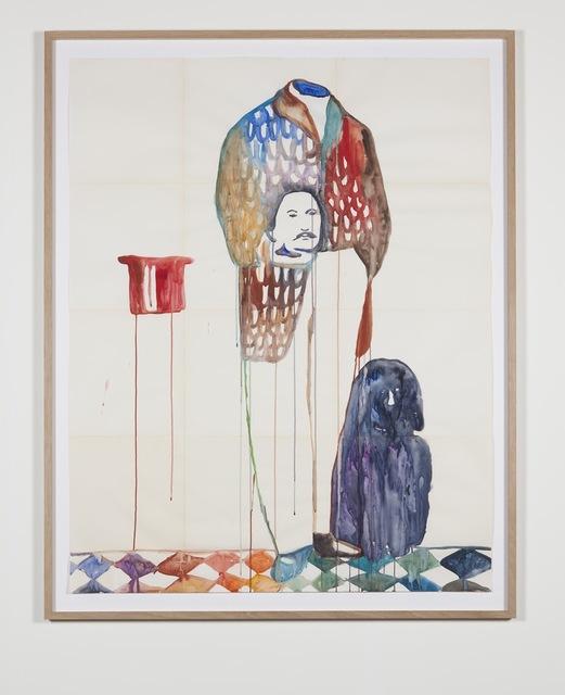 , 'Mann hone Kopf (Man without head),' 2015, Pilar Corrias Gallery