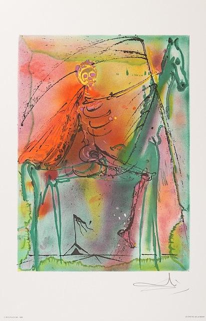 Salvador Dalí, 'Le Cheval de la Mort (Horse of Death)', 1983, Art Lithographies