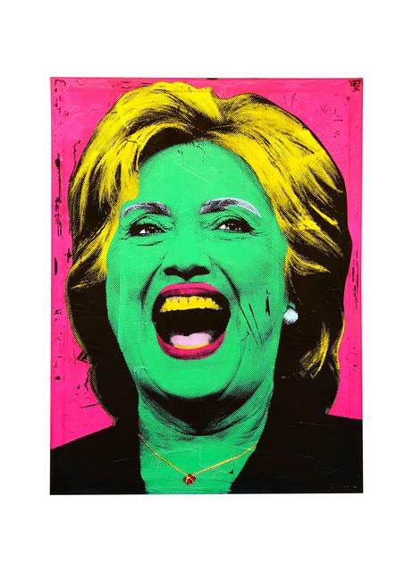 , 'Hilary Clinton,' 2016, The McLoughlin Gallery