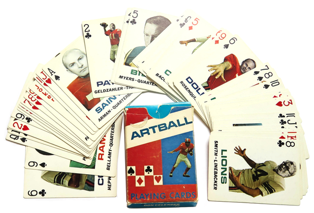 , 'Artball Playing Cards,' 1972, Alternate Projects
