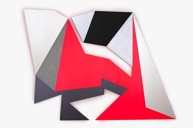 , 'Neon Crease,' 2018, Charles Nodrum Gallery