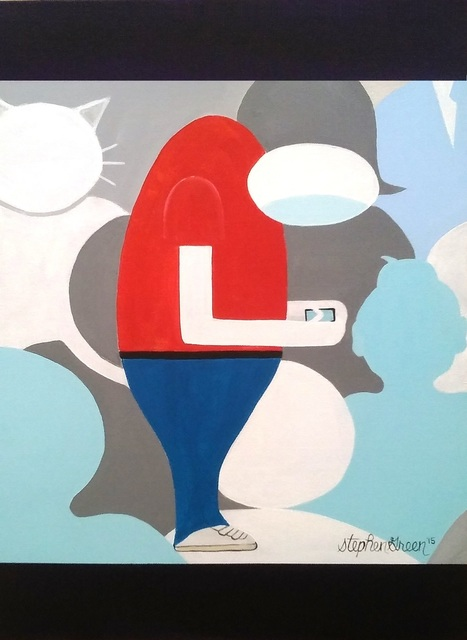 "Stephen Green, '""Individual Ineptitude""', 2015, Ezair Gallery"