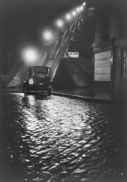 Willy Ronis, 'Rue Muller, Paris', 1934, Argentic