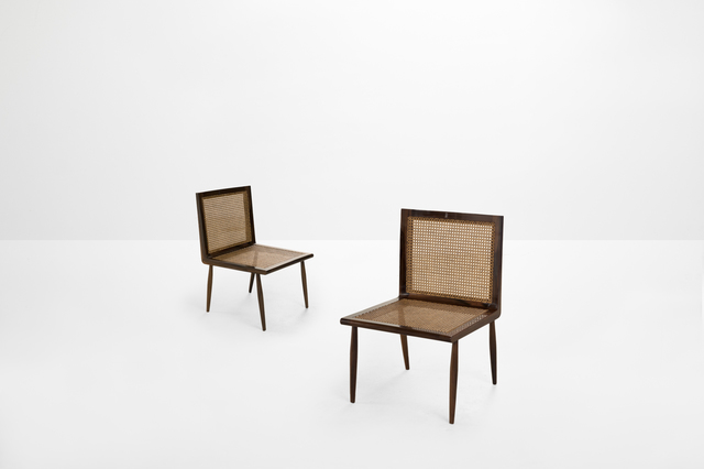 , 'Pair of lounge chairs,' 1950, Side Gallery