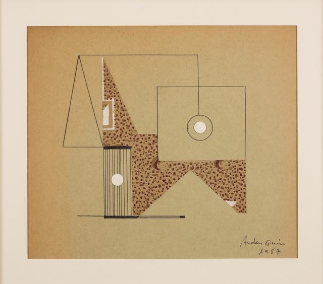 , 'Decoupage-collage,' 1957, Galería de las Misiones