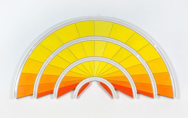 Jenna Krypell, 'Radiate', 2020, Painting, MDF, resin and acrylic paint, Jonathan LeVine Projects