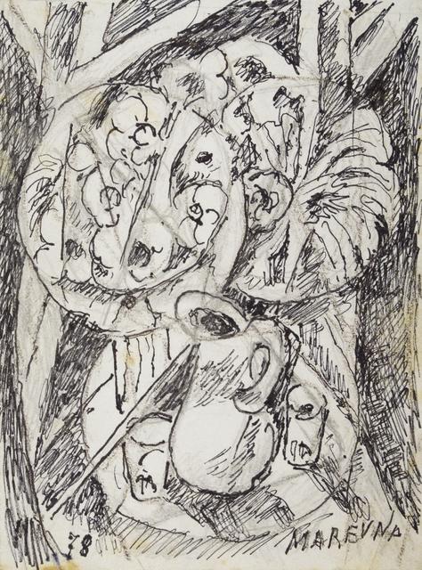 Marie Vorobieff Marevna, 'Still life with flowers', 1978, Roseberys