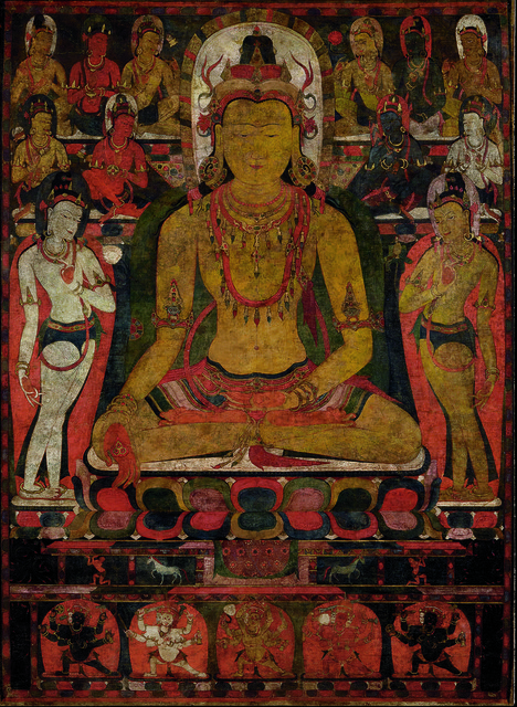 , 'Ratnasambhava, the Buddha of the Southern Pure Land. Tibet,' late 11th century, The Metropolitan Museum of Art