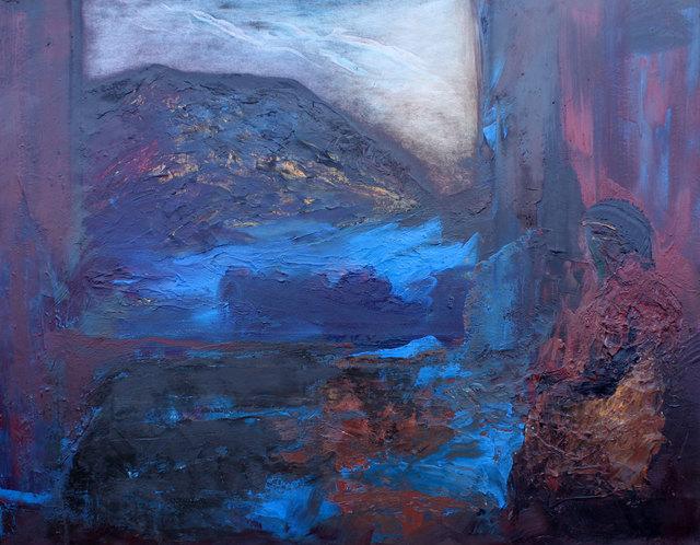 , 'Black Crag,' 2017, Albemarle Gallery | Pontone Gallery