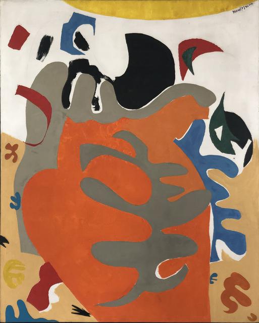 , 'Sea Shapes (#1),' ca. 1960, Modern West