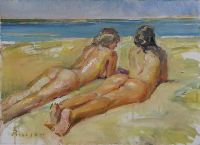 , 'On The Beach,' 2016, Snow Pearl Art Gallery