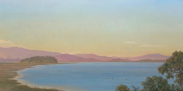 , 'San Pablo Bay,' 2016, Andra Norris Gallery