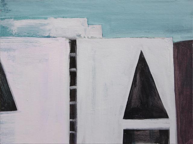 Matthew Krishanu, 'Parliament Building', 2017, Painting, Oil on canvas, Jhaveri Contemporary