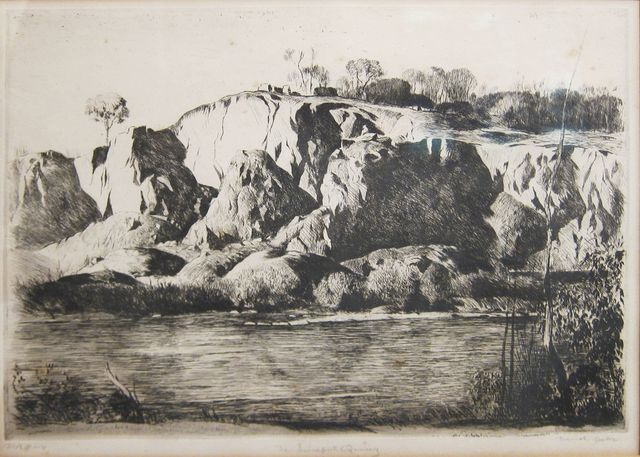 , 'The Limeport Quarry,' 1947, Hollis Taggart Galleries