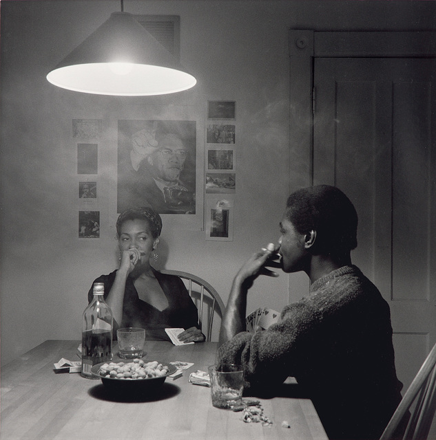 Carrie Mae Weems, 'Untitled (man smoking) from Kitchen Table Series', 1990, Phillips