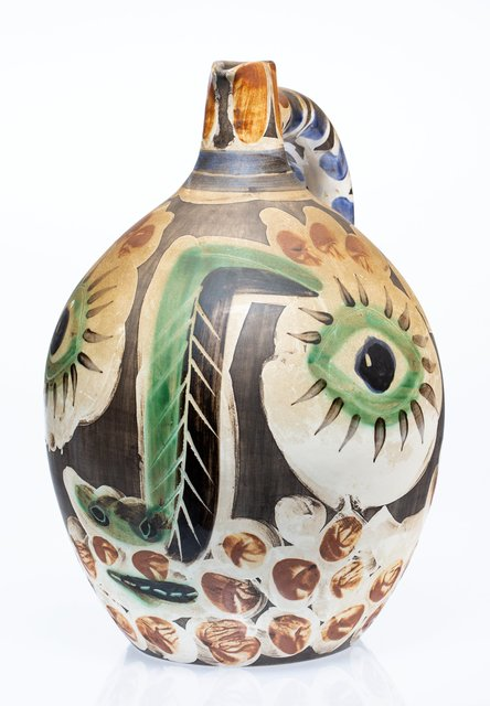 Pablo Picasso, 'Visage au nez noir', 1969, Terre de faïence ceramic pitcher, partially glazed and painted, Heritage Auctions