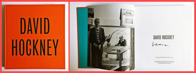 David Hockney, 'David Hockney (Hand Signed)', 2017, Ephemera or Merchandise, Hardback Monograph. Hand Signed by David Hockney., Alpha 137 Gallery